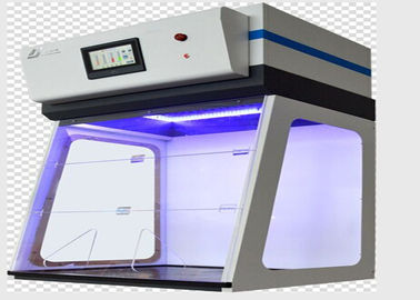 Chemistry Lab Ductless Fume Hood Benchtop All Steel Material LCD Touch Screen Control